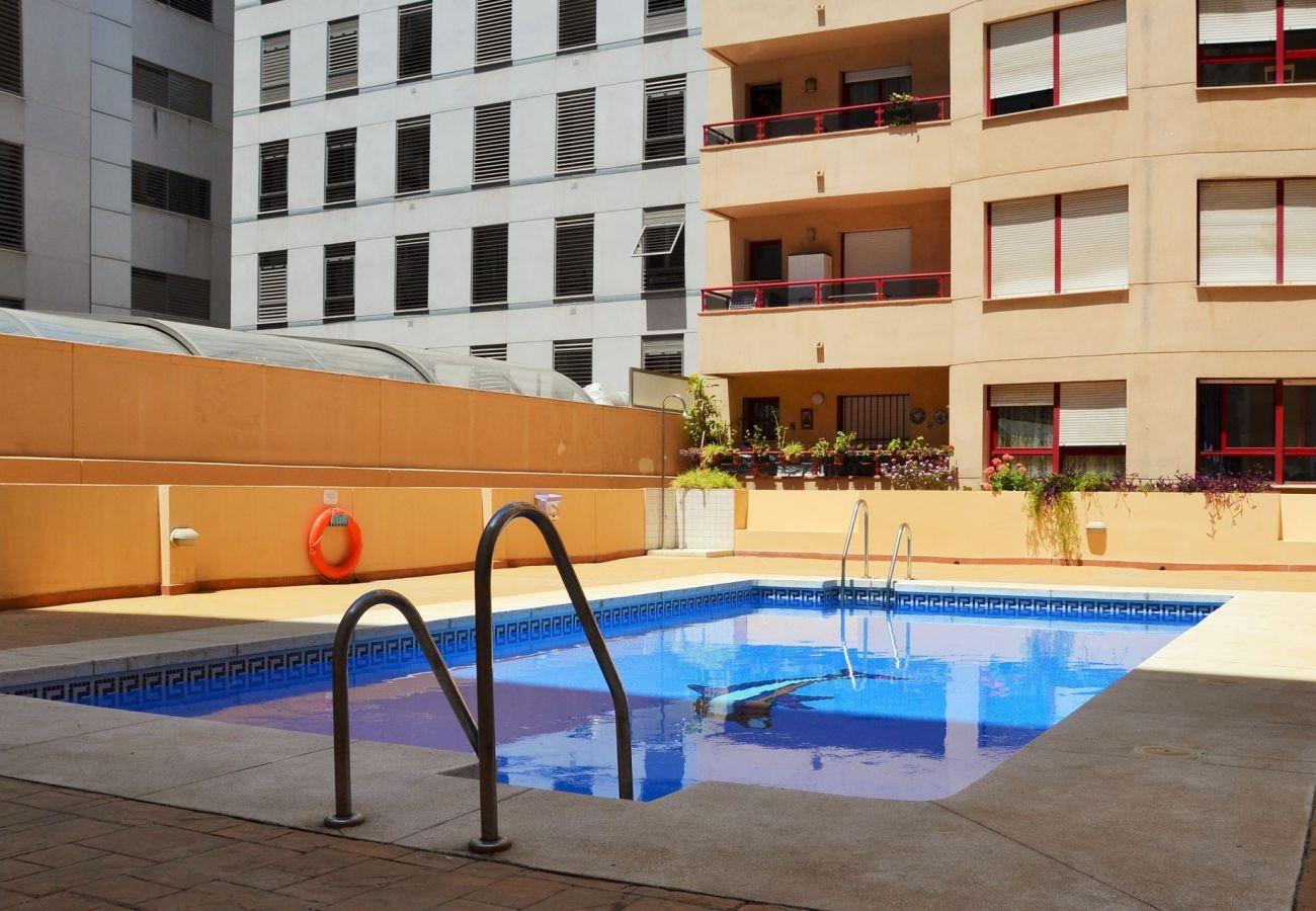 Feriebolig i Malaga centrum med swimmimgpool