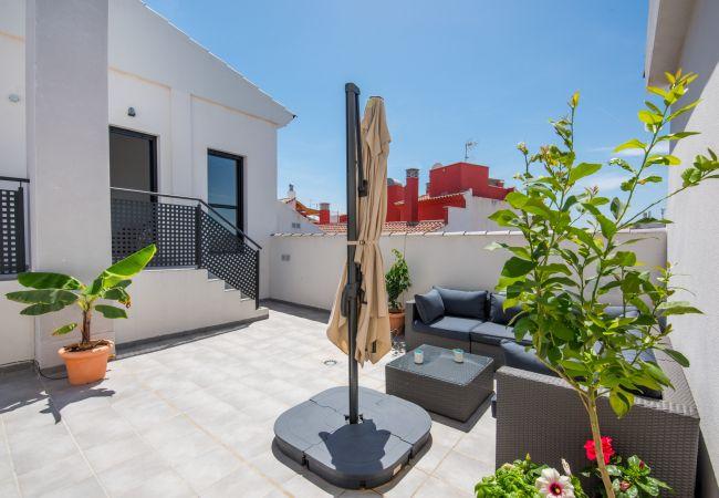 i Málaga - Jinetes - Feriebolig i Malaga centrum