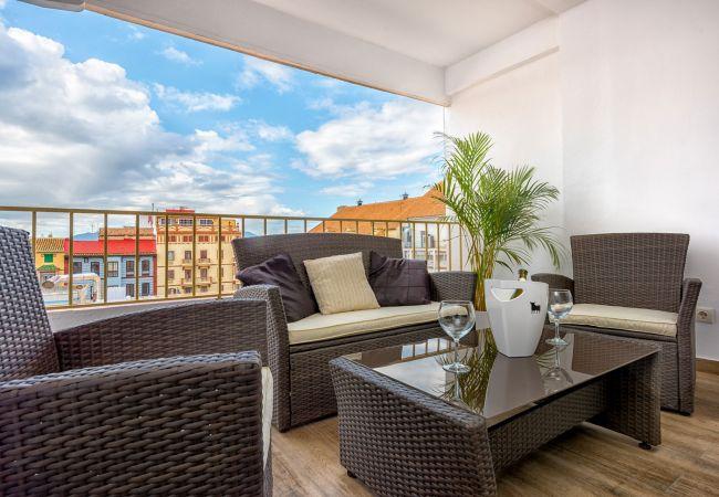 i Málaga - Frailes - Feriebolig i Malaga centrum