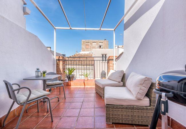 i Málaga - Tina - Feriebolig i Malaga centrum