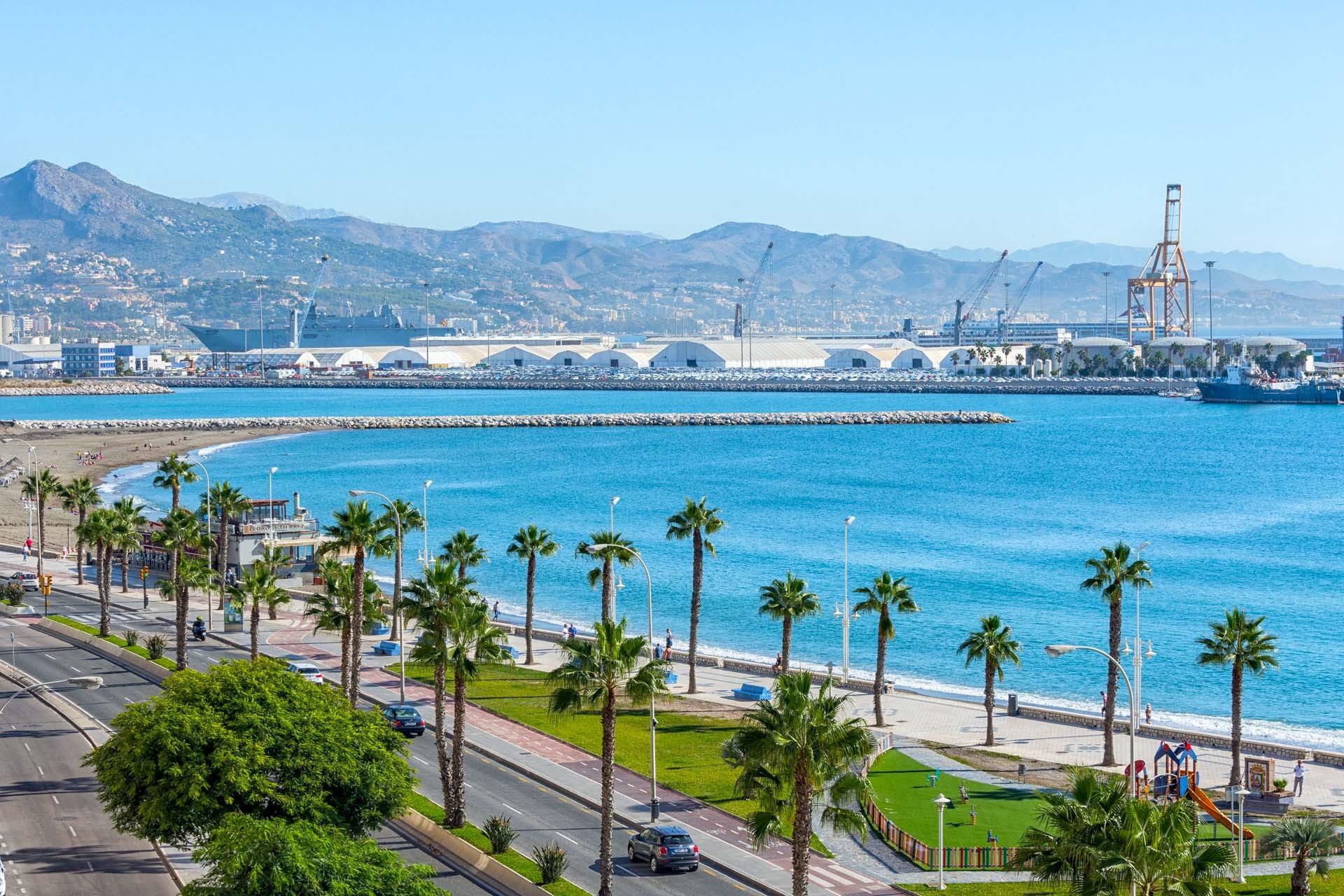 Fantastisk feriebolig med flot udsigt og terrasse i Malaga