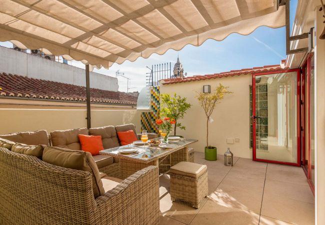 i Málaga - Emma - Penthouse i Malaga centrum