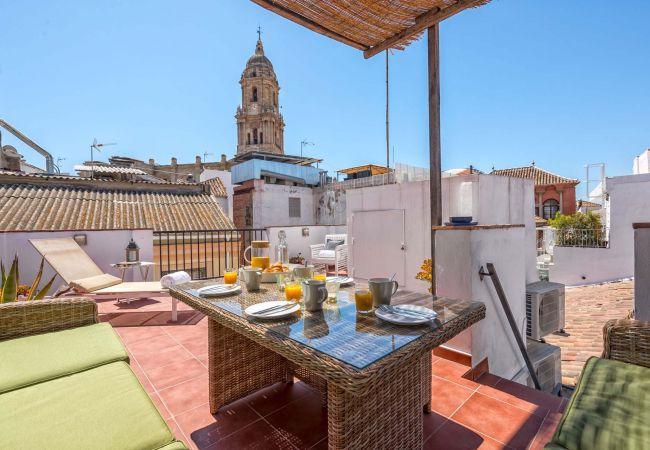 i Málaga - Siglo - Penthouselejlighed i Malaga